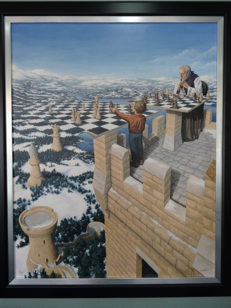 Sold Print On Canvas By Rob Gonsalves Quot The Chessmaster