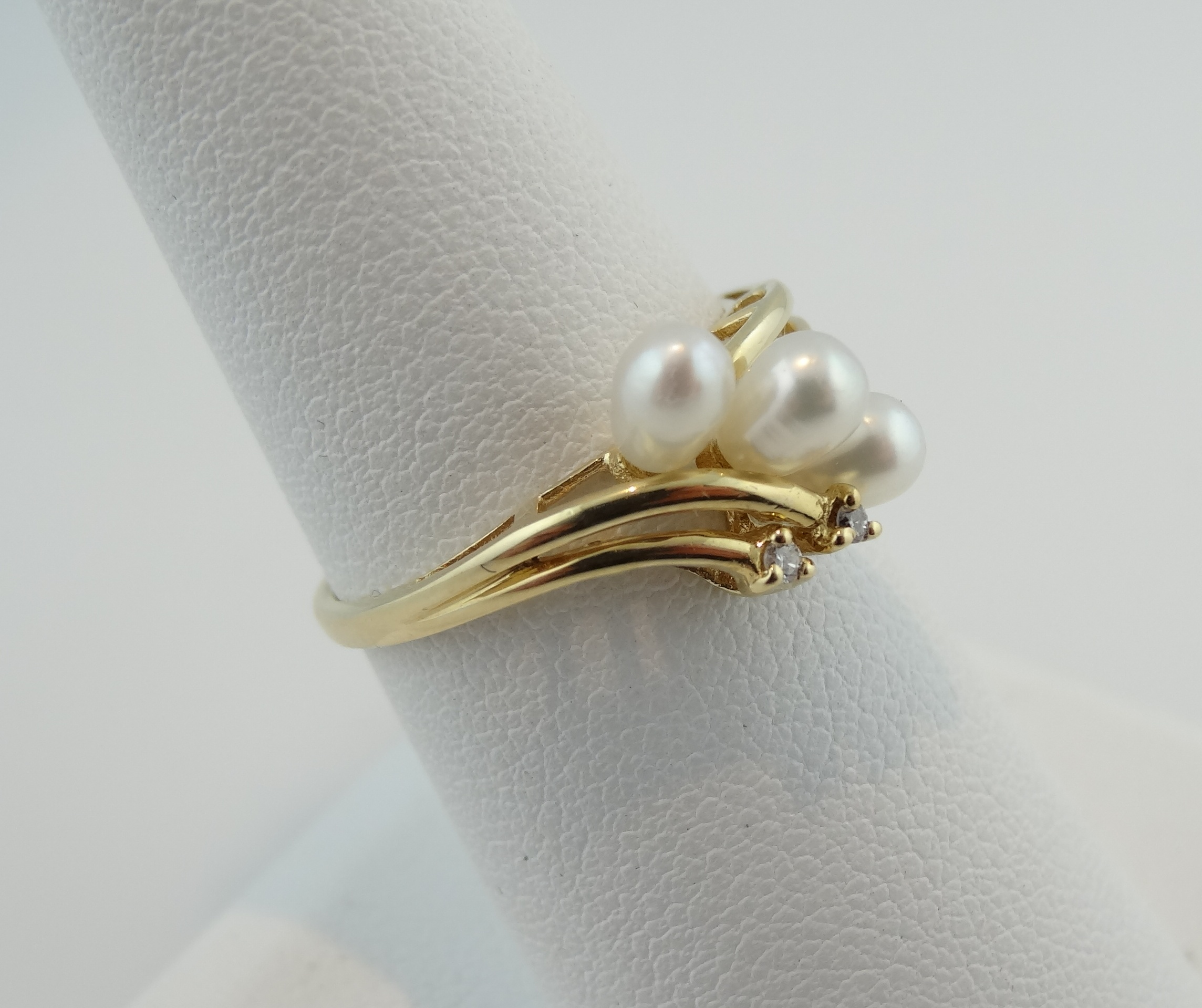 of rings ti pearl crossover wedding mother ring sento