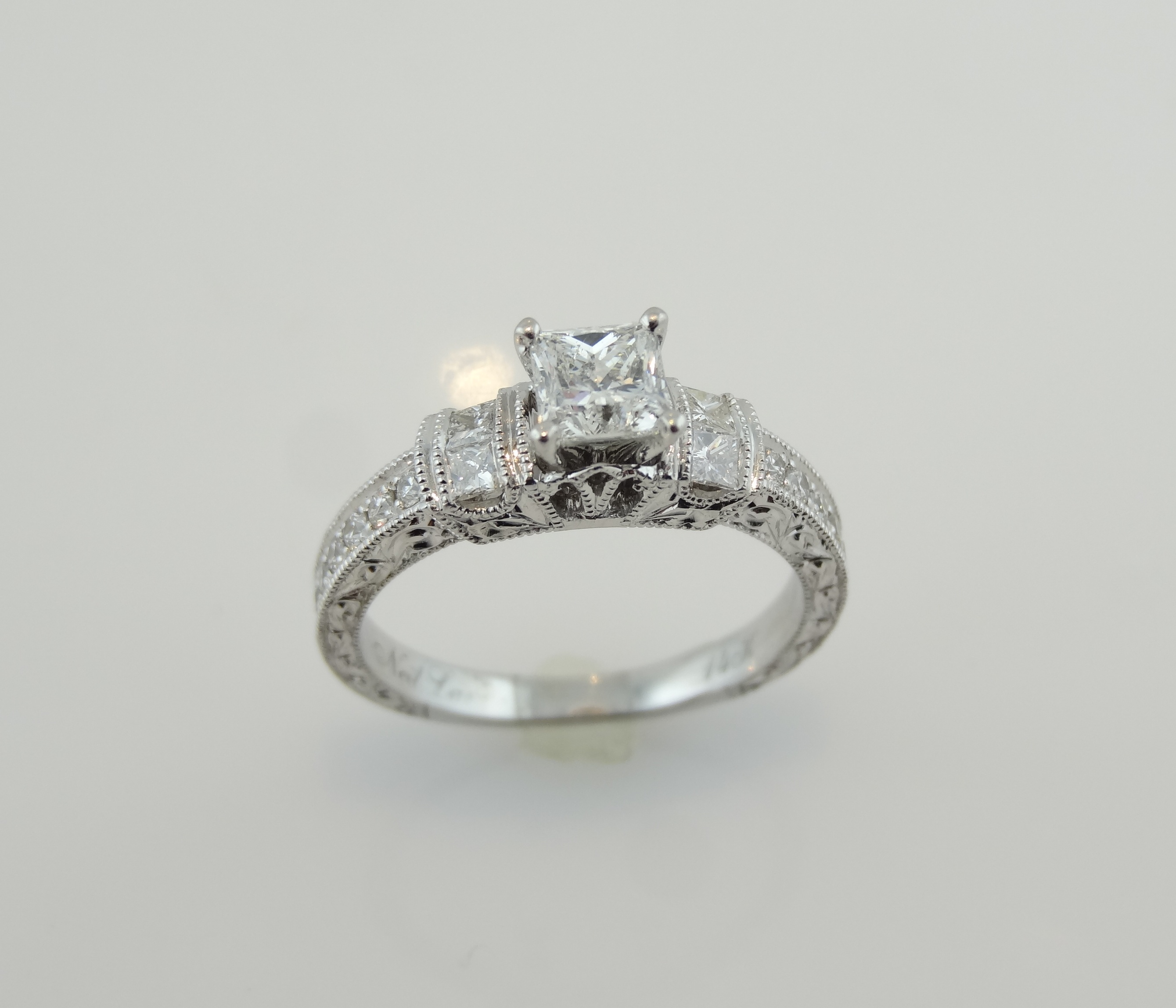 setting cut neil lane french cushion uk rings diamond halo engagement ring
