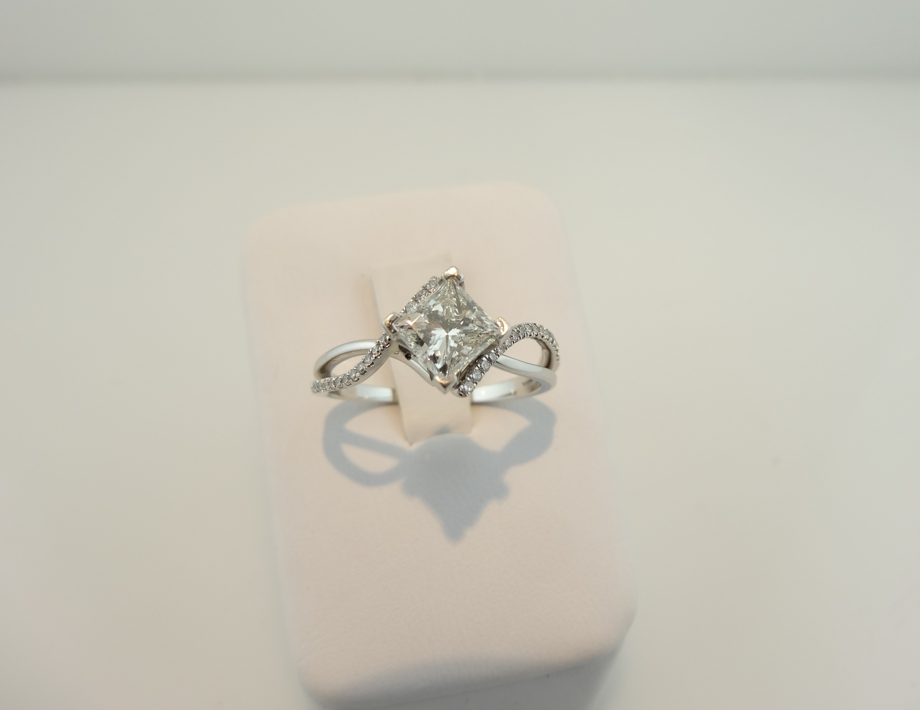 grey engagement rose rings mine products cut in gold diamond ring